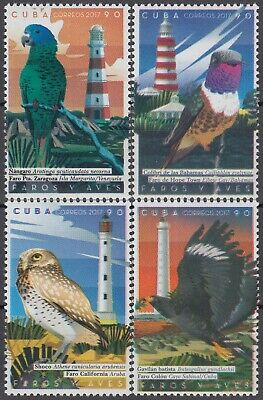CARIBBEAN 2017 FAUNA BIRDS and MARINE LIGHTHOUSES COMPLETE MNH SET