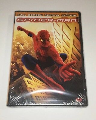 Spider-Man New & Sealed DVD Full Screen Special Edition Spiderman
