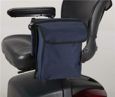 Mobility Scooter / Wheelchair pannier bag with wallet from Ducksback Blue
