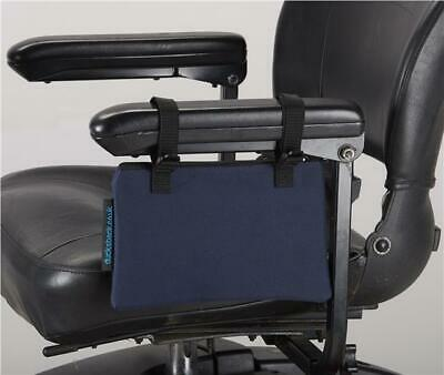 Mobility Scooter / Wheelchair armrest bag, New from Ducksback Blue
