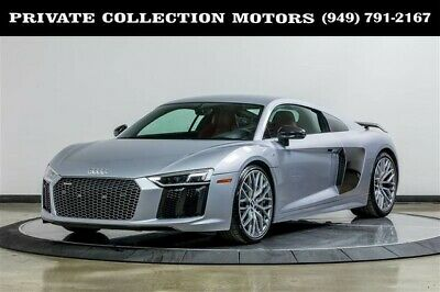 2017 Audi R8  2017 Audi R8 Coupe V10 plus $202,825 MSRP 1 Owner Clean Carfax