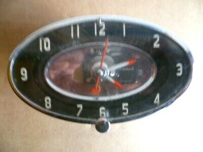 Horloge,Montre Automobile MFD by the Geo. W. BORG Corp BUICK-NASCH-FORD mars 56