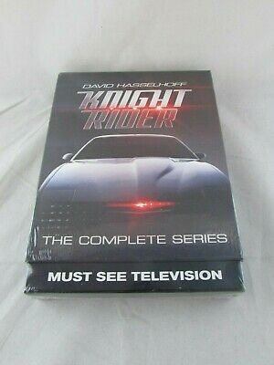 Knight Rider: The Complete Series (16 DVD Set, 2016) David Hasselhoff - NEW
