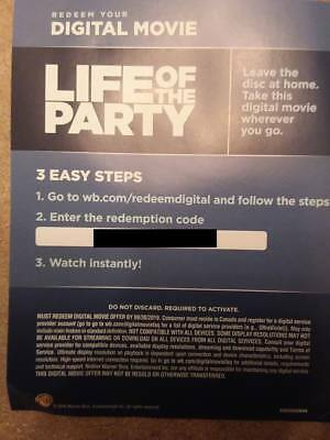 Life of the Party  Digital Canadian Code Only *Read Description*