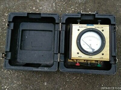 Mid-West Instrument Model 830 Backflow Prevention Test Kit-No Hose, As Is