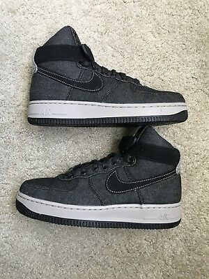 ea56abdb3ad1f NIKE AIR FORCE 1 Hi SE Black/Dark Grey-Cobblestone (WS) (860544 003 ...