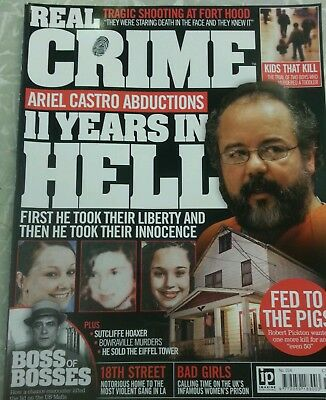 Real Crime Magazine No.014 Ariel Castro 3 women's 11 years in hell