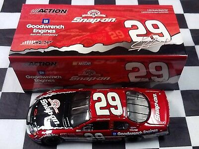 Kevin Harvick #29 Snap-On GM Goodwrench 2003 1:24 scale Action NASCAR 103881 NEW