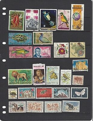 [357] 44 stamps from African Countries 2 scans