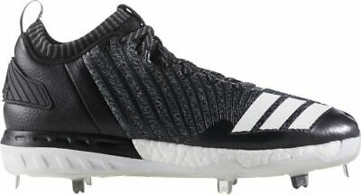 online store b006f 0c644 NEW adidas Boost Icon 3 Metal Baseball Cleats PK Grey White Black Size 13  OREO