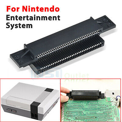 72 Pin Replacement Connector Cartridge Slot For Nintendo Nes 8 Bit System NEW