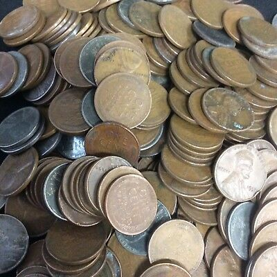 816 UNSEARCHED Lincoln Wheat Pennies, Various Dates & Mints