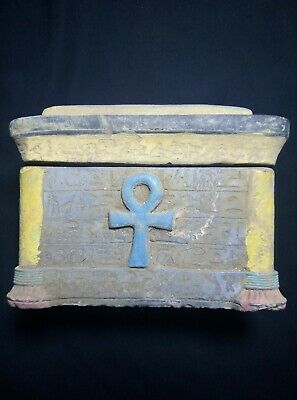 RARE ANCIENT EGYPTIAN ANTIQUE Key Life  BOX 1458-1266 BC