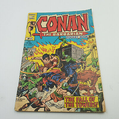 Conan The Barbarian Pocket Book #11 Marvel Digest Series G