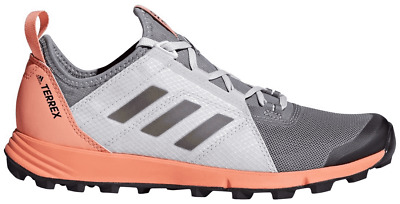 buy popular 04977 bebd2 Adidas CM7588 Outdoor Terrex Agravic Speed Grey Black Chalk Coral Women s  Shoes