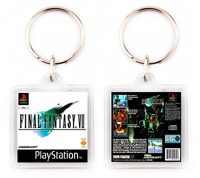 Llavero Final Fantasy Vii Playstation Psx Keyring