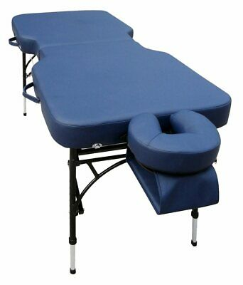 Affinity 8 Massage Table from Affinity in Blue 185cm x 71cm