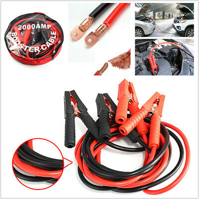 Heavy Duty 1000AMP Car Lead Battery Booster Cable Start Emergency Jumper Durable
