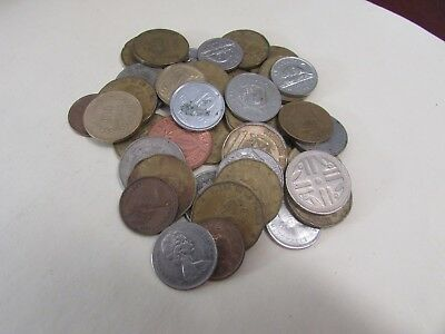 Lot of World Foreign Coins - One Half (1/2 lbs) Pound Lot#1
