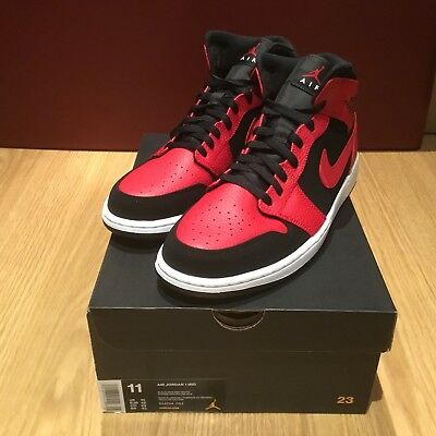 5232d0a1c1e539 NIKE AIR JORDAN Reveal Trainers Gym Red   Black   Infrared 23 size ...
