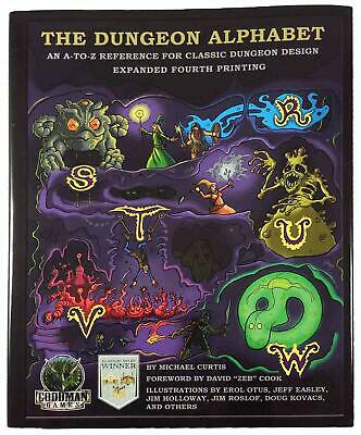 Goodman Fantasy RPG Dungeon Alphabet, The (Expanded 4th Printing) HC MINT
