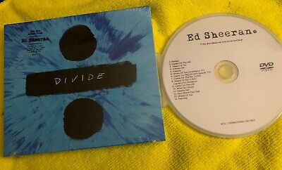 Ed Sheeran DIVIDE Deluxe CD + Bonus DVD Castle on the Hill, Shape Of You. + LIVE