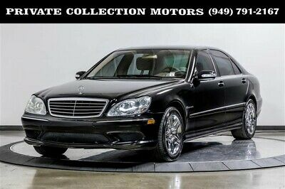 2004 Mercedes-Benz S-Class  2004 Mercedes-Benz S55 AMG S-Class AMG 1 Owner Clean Carfax Low Miles