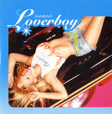 "Mariah Carey Loverboy CD single (CD5 / 5"") UK promo VUSCDJ211 VIRGIN 2001"