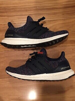 new style 266fe 644a9 ADIDAS ULTRA BOOST 4.0 Multi Color Size 9 bb6165 yeezy nmd pk Ultraboost UB  Navy