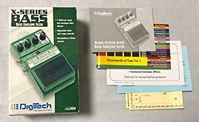 Digitech Bass Synth Wah Bass Envelope Filter for Bass Guitar with Box Used