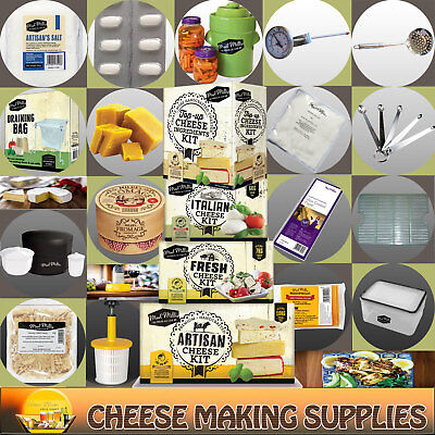 Cheese Making Cultures | Moulds | Wraps | Equipment | Consumables - Mad Millie