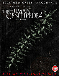 The Human Centipede 2 (Full Sequence) (2011) [Blu-ray], DVD, New, FREE & Fast De