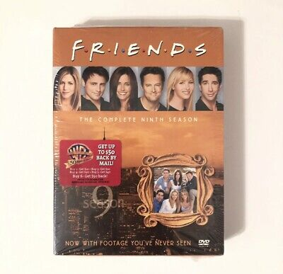 FRIENDS The Complete Ninth Season DVD Box Set, 4 Disc Set, NEW! TV Series