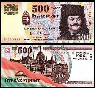 Hungary 500 Forint 2006 COMMEMORATIVE P#194 banknote Magyar Ungarn UNC