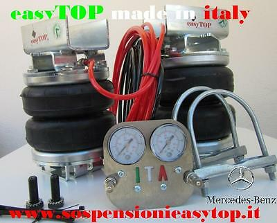 PNEUMATIC AIR SUSPENSION KIT airspring CAMPER VAN MERCEDES SPRINTER single wheel
