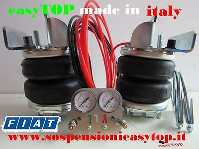 PNEUMATIC AIR SUSPENSION KIT airspring easyTOP CAMPER VAN FIAT DUCATO x280 x290