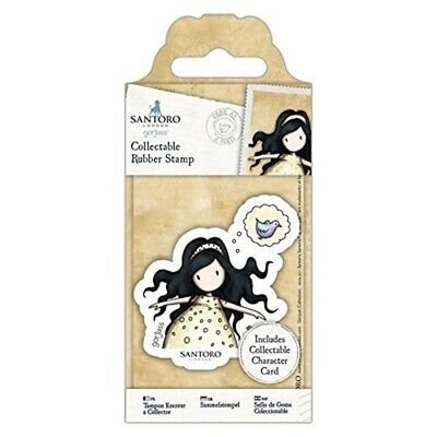 Docrafts Gor 907143 Santoro's Gorjuss Collectable Rubber Stamp - No. 44 Free As