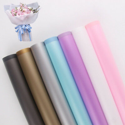 20 Sheet Flower Wrapping Paper Waterproof Florist Art Wedding Bouquet Gift Decor