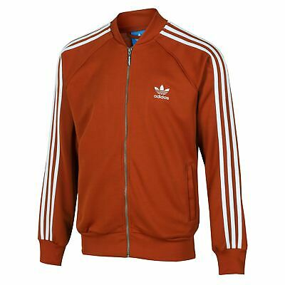 ADIDAS ORIGINAL RETRO Roter Fuchs Superstar Trainingsjacke