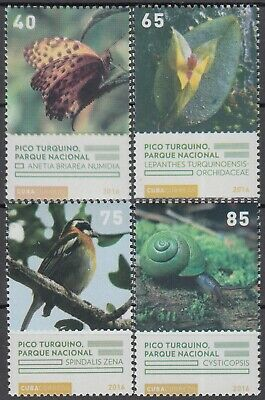 CARIBBEAN 2016 FLORA and FAUNA BIRD BUTTERFLY COMPLETE MNH SET in GOOD QUALITY