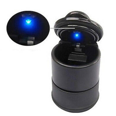LED Car Ashtray Smokeless Auto Car Truck Cigarette Smoke Ash Cylinder Cup-Holder