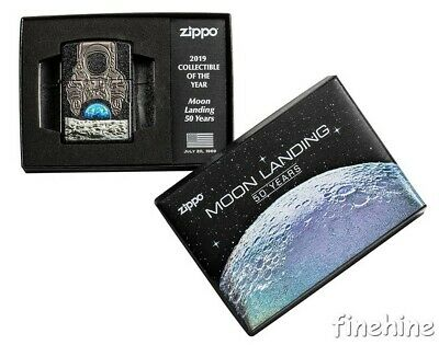 50 Years Moon Landing ZIPPO Spring 2019 neu+ovp Collectible of the Year LIMITED