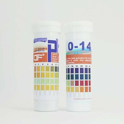 150 Strips Bottled PH Test Strip 0-14 pH Indicator Acidic Alkaline Urine Saliva