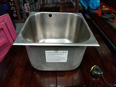 Used catering single sink