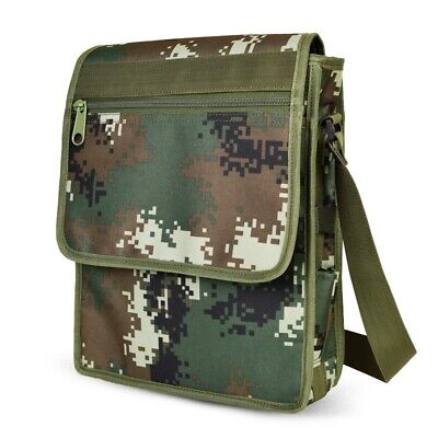 Metal Detector Camo Bag Finds Pouch Holder for Outdoor Hunting Tool 25L