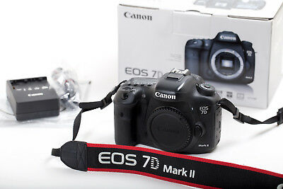 Canon EOS 7D Mark II 20.2 MP Digital SLR Camera - Black (Body Only)