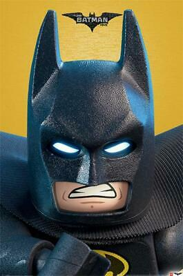 LEGO Batman Close Up Movie Poster 24x36 Inch Poster 36x24