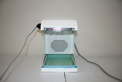 Handler 550 Porta-Vac Bench Top Dust Collector Dental Lab Red Wing