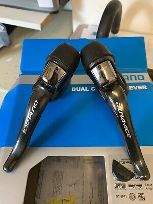 Shimano ST-7900 Dura-Ace 10 speed STI levers - pair (pre Owned )