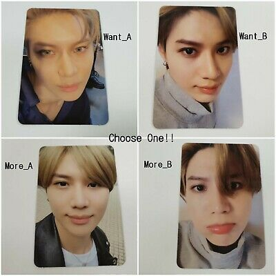 Taemin SHINee 2nd Mini WANT selected Official Original Photocard 1p K-POP Goods